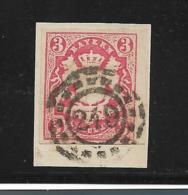 D-Bay062 /  Bayern,  Mi.Nr. 15, Mühlrad 249 (+ 3) Kitzingen - Bayern