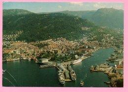 Postcard - Bergen / Hotel Bryggen, 1992., Norway (Norge) (33200) - Norvège