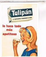 PUBLICITE   CPM  MARGARINE TULIPAN - Publicité