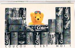 PUBLICITE   CPM  COCA COLA  OURS  1990 - Publicité