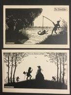 2 Oude Pk Elsbeth Forck's Schattenbilder Reihe XVI / XIII. - Illustrateurs & Photographes