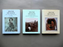 Segni Di Luce Italo Zannier Longo Ravenna 1991-93 Fotografia 3 Volumi Completo - Livres, BD, Revues