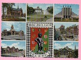 Postcard - Souvenir Of Brussels / Bruxelles, 1968., Belgium - Belgium