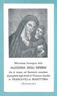 MADONNA DEGLI INFERMI - Francavilla Marittima (CS)  - E - RB - Mm. 64 X 111 - Religione & Esoterismo