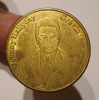 MEDAILLE JOHNNY HALLYDAY. MUSEE GREVIN. - Professionals / Firms