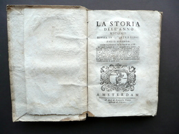 Corsica Mario Matra Pasquale Paoli Storia Dell'Anno 1757 Pitteri Amsterdam - Livres, BD, Revues
