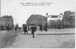 CPA - Paris - La Place Daumesnil - 12ème - Places, Squares