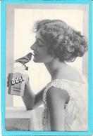 Cpa PUB Dentifrice UDOL. Femme Et L'oiseau - Publicité