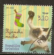 Croatia 2012 Chat Cat Obl - Croatia