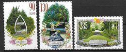 Islande 2010, N°1200/1202 Neufs Jardins Publics - 1944-... Republique