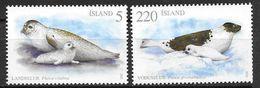 Islande 2010, N°1188/1189 Neufs Phoques - 1944-... Republique