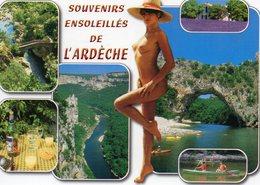 Vends Carte    Souvenirs D'ardeche - Humour