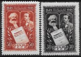 RUSSIA 1948 Complete Set Of 2v MNH** - 1923-1991 URSS