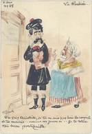 Cpa Signée Roberty – La Rentrée …tu Sais Aristide ... ( Caricature Politique ) - Autres Illustrateurs