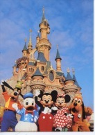 Le Château De La Belle Au Bois Dormant N°107 Mickey Marne La Vallée Euro Disney (1994) Disneyland Paris - Disneyland