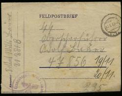 3. Reich : DR GG Feldpost Brief Krankensammelstelle Lemberg - SS Leibstandarte Adolf Hitler: Gebraucht Feldpost Nr. 21 - Deutschland