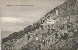 W584 Subiaco (Roma) - Il Sacro Speco Visto Da Oriente - Panorama / Non Viaggiata - Altre Città