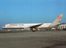 B55320 CPM Avion - Aviation : Avianca Colombia , Boeing 757-2Y0 - Aviación