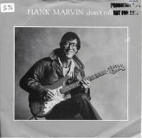 "Hank Marvin  ""  Don't Talk  "" - Vinyles"