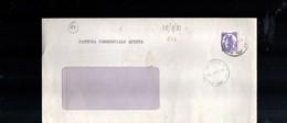 14-singolo Isolato Lire 170 Castelli In Bobina Su Fattura Commerciale - 6. 1946-.. Repubblica