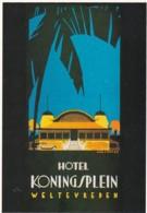 1884      192         Jan Lavies, (1902-2005), Affichekunstenaar Van De 20ste Eeuw. 1999 / Folder Ned – Ind. Hotel - Publicité