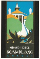 1884      196         Jan Lavies, (1902-2005), Affichekunstenaar Van De 20ste Eeuw. 1997 / Java 1928. (GRAN - Publicité