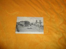 CARTE POSTALE ANCIENNE CIRCULEE DE 1918. / SFAX.- LE BOULEVARD DE FRANCE ET L'EGLISE. CACHET TRANSPORT AUXILIAIRE CONSUL - Tunisie