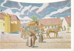 4 Cartes Postales CPM Hans Christian ANDERSEN  Peintures ODENSE Cartes N° 10,11, 12, 13 ... - Danemark