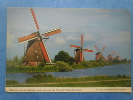 PAYS-BAS-KINDERDIJK Moulins - Kinderdijk