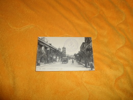 CARTE POSTALE ANCIENNE CIRCULEE DE 1918. / SFAX.- LE BOULEVARD DE FRANCE. CACHET TRANSPORT AUXILIAIRE CONSUL HORN - Tunisie
