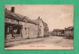 02 Aisne Marchais Rue De Reims Avec Magasin Buvette - Autres Communes