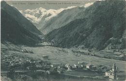 W588 Cogne (Aosta) - Panorama Con Il Gran Paradiso / Non Viaggiata - Italia