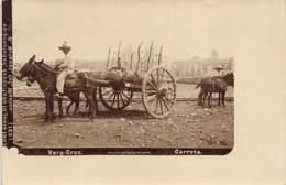 Mexico - VERACRUZ - Carreta - REAL PHOTO - Ed. Briquet 123. - México