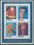PENRHYN - MNH/**  - 1978 -  HAWAIIAN DISCOVERY BICENTENNIAL  - Yv BLOC 5 - Lot 18885 - Penrhyn