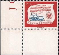 1959 Centenaire Des Chemins De Fer Luxembourgeois, Neuf, Michel 2019: 611, Valeur Catalogue: 2,50€ - Luxembourg