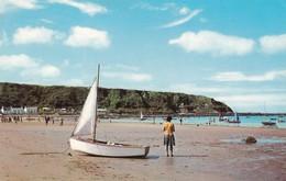 Postcard The Beach Nefyn PU At Pwllheli 1968 My Ref  B12827 - Caernarvonshire