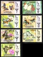 MALAYSIA - 1971, Pahang, Butterflies Sultan Abu Bakar SG. 96/102 Serie Cpl. 7v. Nuovi** Perfetti - Malesia (1964-...)