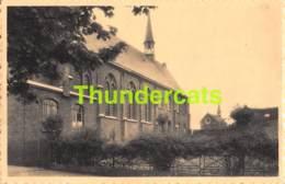 CPA BRUGES BRUGGE KOSTSCHOOL ENGELBEWAARDER PENSIONNAT ANGE GARDIEN L'EGLISE - Brugge