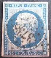 DF50478/8 - LN N°10 - PC 3738 (BUREAU SUPPLEMENTAIRE) : TENEZ (ALGER / ALGERIE) ➤➤➤ INDICE 14 - 1852 Louis-Napoléon