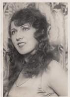 PHOTO ORIGINALE ( 13x18)  La Plus Jolie Femme De Paris Mlle GINETTE GAUBERT - Personnes Identifiées