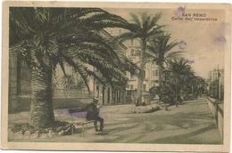 W593 San Remo Sanremo (Imperia) - Corso Imperatrice / Viaggiata 1932 - San Remo