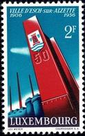 1956 Cinquantenaire De La Ville D'Esch/Alzette, Neuf, Michel 2019: 551, 2,50F. Valeur Catalogue: 2,50€ - Luxembourg