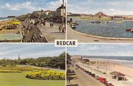 Postcard Redcar Multiview PU 1965 My Ref  B12828 - England