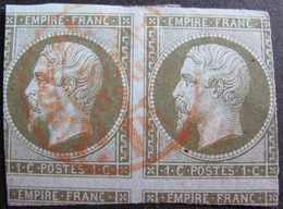 DF50478/10 - NAPOLEON III N°11 - CàD ROUGE DES IMPRIMES Du 13 MARS 1862 - Cote : 300,00 € - 1853-1860 Napoléon III