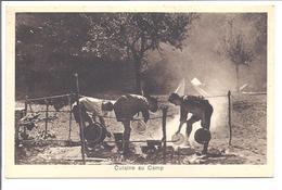 """SCOUT Pfadfinder """"cuisine Au Camp"""" Carte édité à Paris - Scoutisme"""