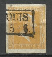 554-SELLO CLASICO ALEMANIA ANTIGUO ESTADO PRUSIA 1858 .Nº13. 22,00€ FEDERICO GUILLERMO IV. ***************************** - Prusse