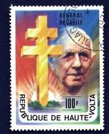Charles De Gaulle (Général) -Haute Volta - 1977 - Haute-Volta (1958-1984)