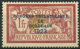 France (1923) N 182 * (charniere) - France