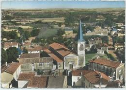 Pissotte-En Avion Au-Dessus De ...L'Église (Pliure Et Corne D'angle Haut à Droite,Cornée Haut à Gauche,voir Scan) (CPSM) - France