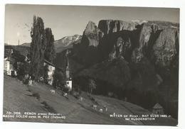 W595 Renon Ritten (Bolzano) - Bagno Dolce Verso Il Monte Pez - Bad Suss Bei Klobenstein - Panorama / Viaggiata - Italia